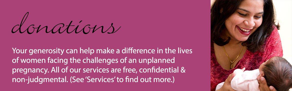 Donation information, Pregnancy Concerns, Image