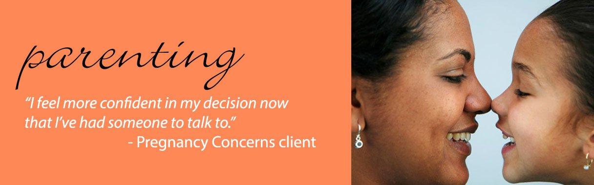 Pregnancy Concerns, Parenting Services, Image