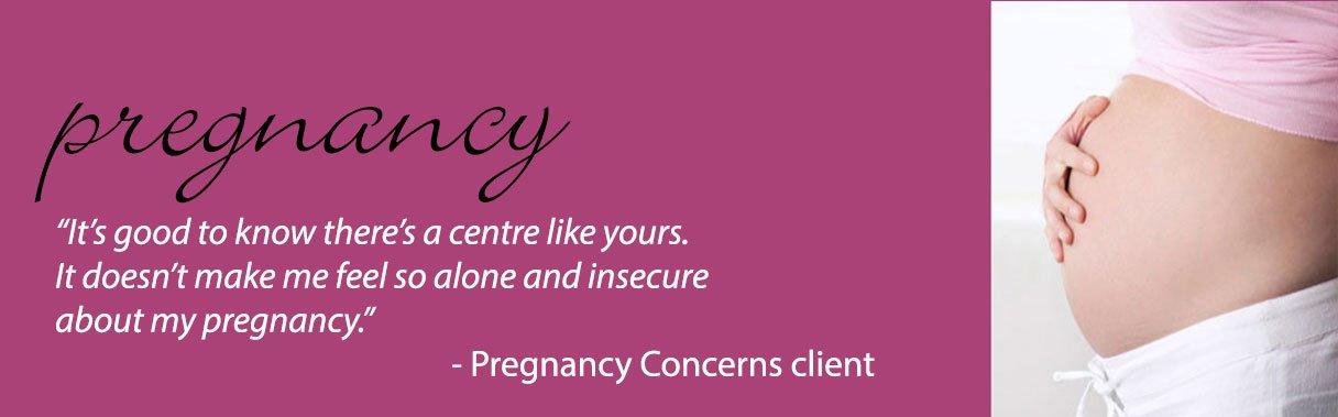Pregnancy Concerns, Pregnancy Services, Image
